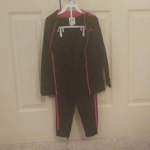 An Adidas jumpsuit